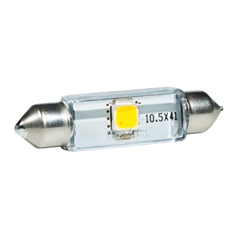 Philips 129466000KX1 X-treme Vision - Bombillas LED (43 mm, 6000 K,