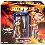 Doctor Who Figure Diorama Model Kit: TARDIS, Tenth Dr. & Martha Jones