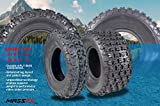 MASSFX ATV Tires Set of 4 21x7-10 Front 20x11-9