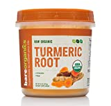 BAREORGANICS Turmeric Root Powder, 8 Ounce Review