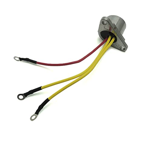 amazon com: 18-5708 583408 582399 rectifier 3 wires for outboard evinrude  johnson sierra 18-5708: automotive