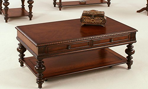 Progressive Furniture Mountain Manor Rectangular Castered Cocktail
