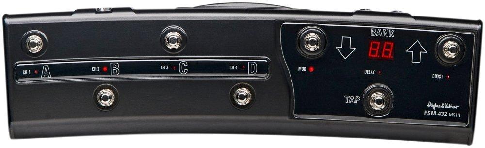 Hughes&Kettner MIDIコントローラー FSM432 MKIII MIDI BOAD HUK-FSM432/3 B00F96FFVE