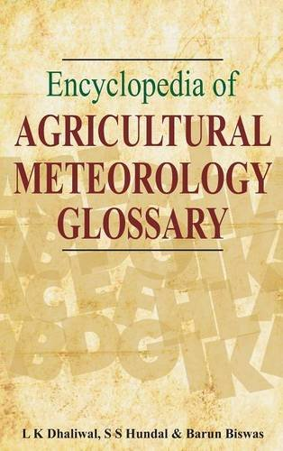 Encyclopedia of Agricultural Meteorology