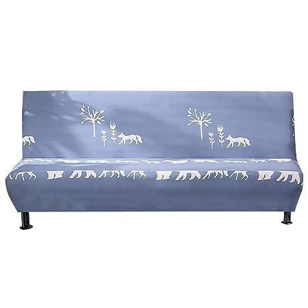 Funda para sofá de tela elástica con patrón de flores y pájaros ...