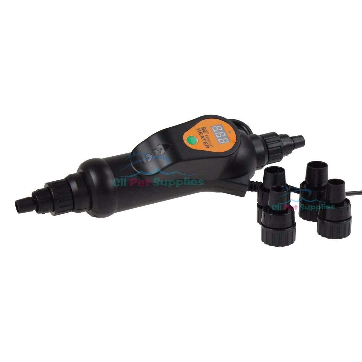 Aquarium 200W/300W Adjustable External Inline Heater Fish Tank Canister Filter