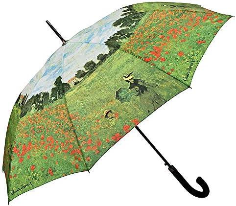 VON LILIENFELD Paraguas Autom/ática Claude Monet El jard/ín Mujer Hombre Motivo Arte
