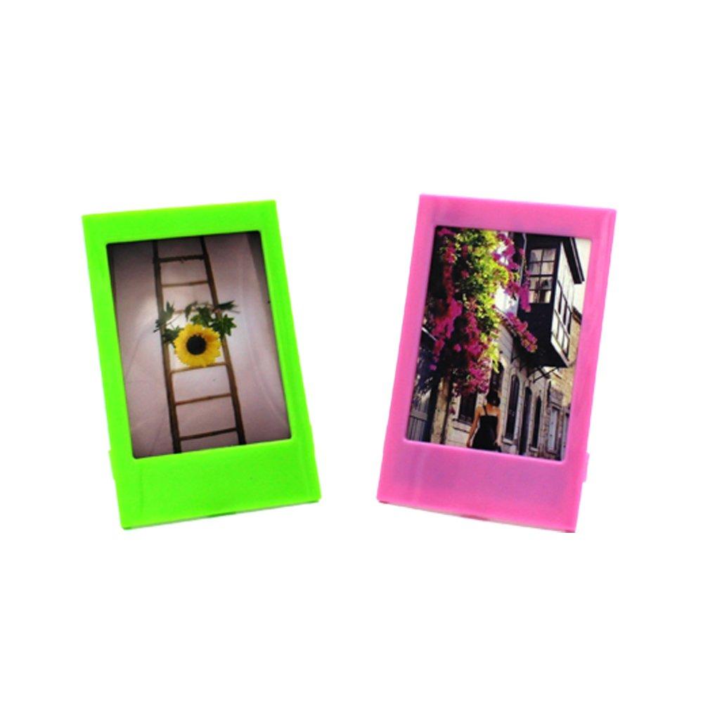 Shaveh 3 pouces Mini cadre//Cadre photo de bureau pour Fujifilm Instax mini 8 7s 90 25 50s Mini 9 Film,10 morceaux