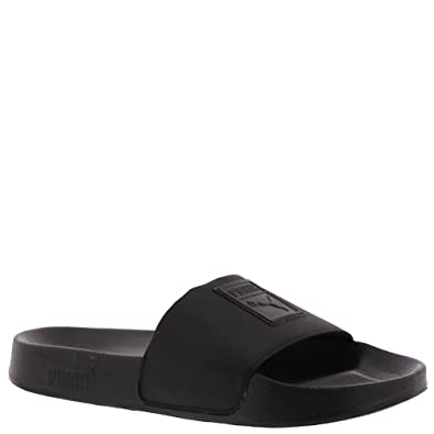 PUMA Leadcat Satin Women s Sandal 5.5 B(M) US Black-Black b0ed8e8952