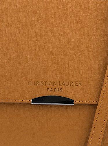 Christian Laurier Bolso asa de mano Taylor Camel