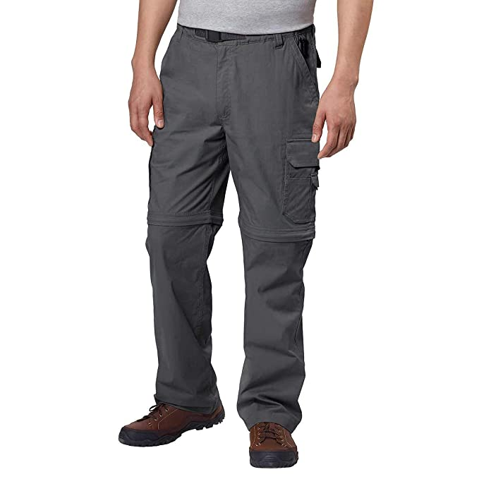 BC Clothing Mens Convertible Lightweight Comfort Stretch Cargo Pants Shorts