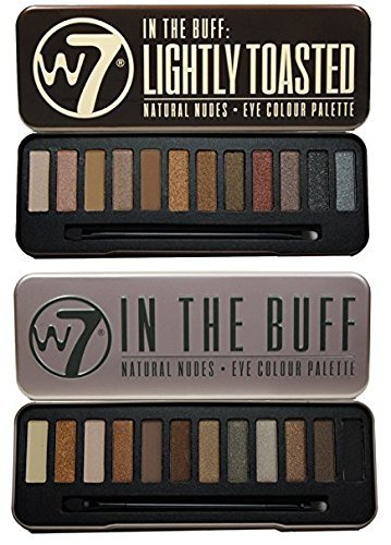 W7 Colour Me Buff & In The Buff Lightly Toasted by W7