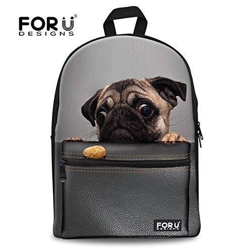 DESIGNS Durale Canvas Bookbag School product image