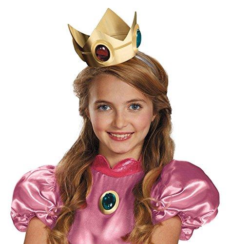 Nintendo Super Mario Brothers Princess Peach Crown and (Peach Crown)