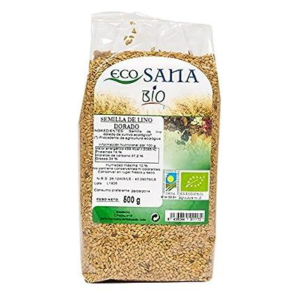 EcoSana - Semillas de Lino Dorado Bio - 500g
