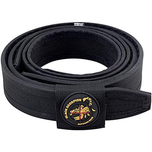 Black Scorpion Outdoor Gear Professional Heavy Duty Competition Belt for IPSC, USPSA, 3 Gun Shooting - Large