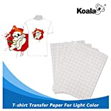#7: 25 Sheets Koala Iron-On Light T Shirt Transfer Paper 8.5x11 inch Compatible with all Inkjet Printer