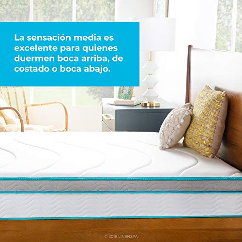 Linenspa Hybrid 10-inch Twin Mattress