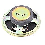 Aexit 77mm OD Speaker Repair External Magnet Toys Multimedia Speaker Tweeter Horn 4 Speaker Repair Accessories Ohm 5W