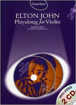 Guest Spot Elton John Playalong For Violin Vln Book/2Cd