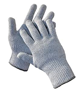 G & F 57100M CUTShield Classic level 5 Cut Resistant Gloves for Kitchen,Food Grade Cut Resistant Gloves, Medium.