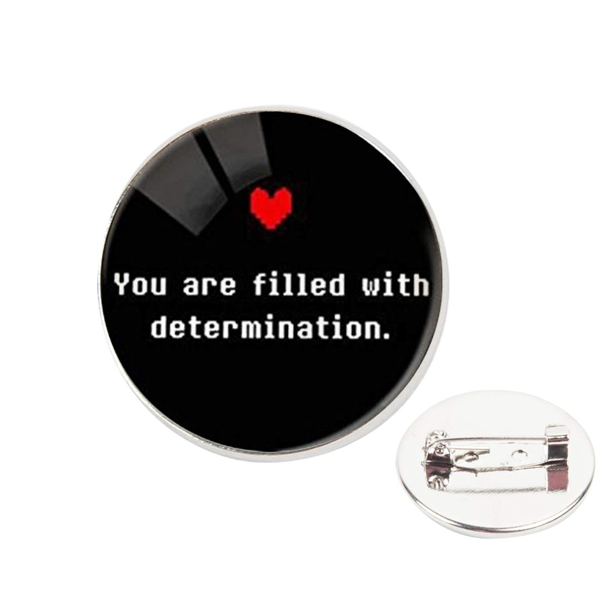 Pinback Buttons Badges Pins Quot Just Be Who You are Colorfu Heart Lapel Pin Brooch Clip Trendy Accessory Jacket T-Shirt Bag Hat Shoe