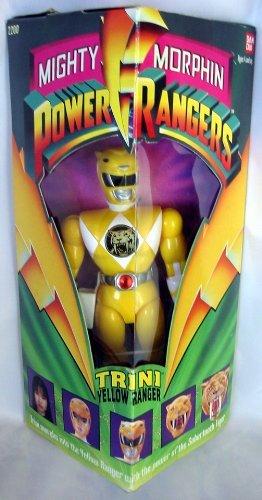 Original Mighty Morphin Power Rangers TRINI YELLOW RANGER 8