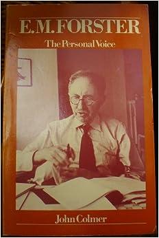 Ebook Descargar Libros Gratis E.m.forster: The Personal Voice Leer Formato Epub