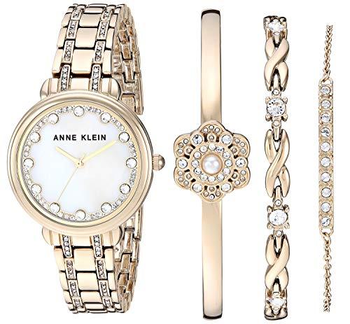 ساعت مچی زنانه آن کلاین مدل AK/3488 به همراه ست دستبند