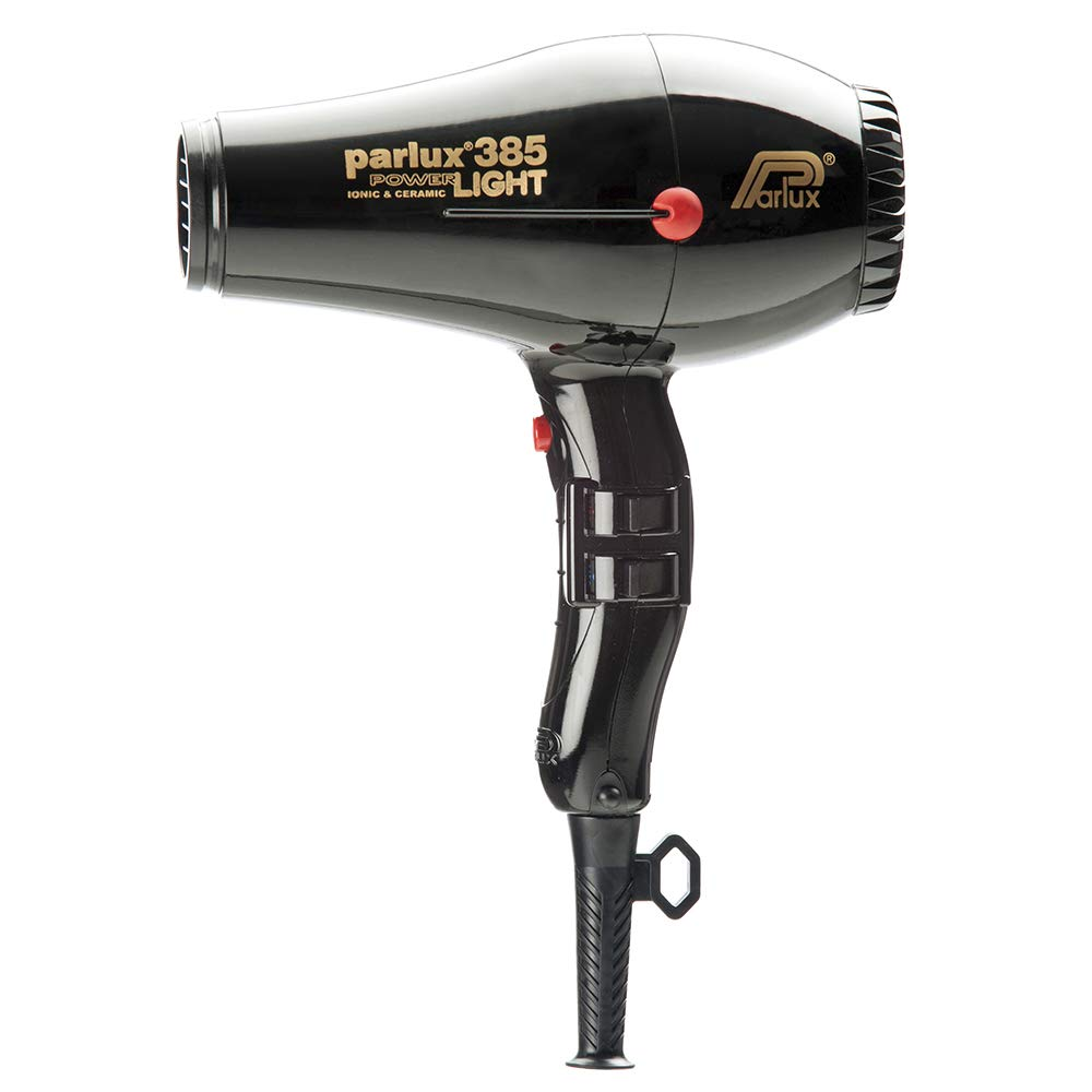 Parlux Power-Light Ionic Ceramic Hair Dryer, No.385 Black