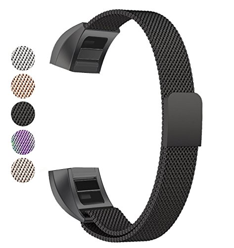 Fitbit Alta Band, BeneStellar Milanese Stainless Steel Replacement Band for Fitbit Alta HR and Alta
