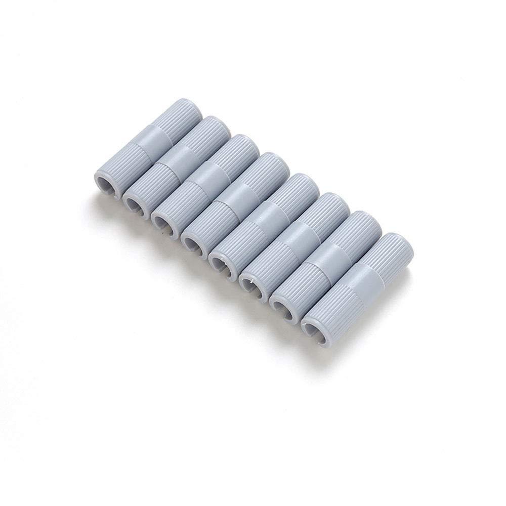 Melodycp Clips del Sujetador de la Hoja de Cama La tablilla de láminas Mantiene Las sábanas cómodas (Juego de 8) (Color : Blanco): Amazon.es: Hogar