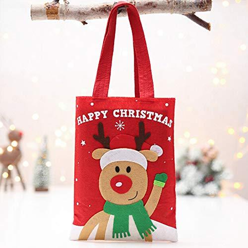 - Stockings & Holders - Christmas Candy Gift Bag Santa Claus Snowman Elk Xmas Tree Pendant Year Party Festival Hanging - Holders Stockings Stockings Gift Holders Xiaomi Pendant Lung Jadeite Jad