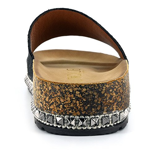 Corkys Dames Sandaal Zwart