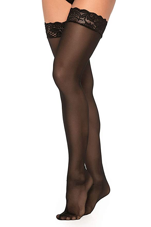 Mapalé 1094 Sexy Thigh High Stockings for Women Pantyhose Pantimedias Para Mujer at Amazon Womens Clothing store: