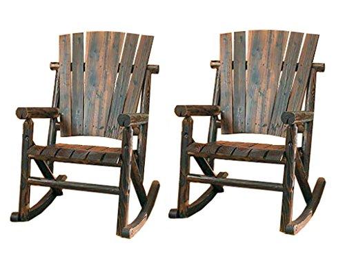 Leigh Country Char-Log Single Rocker -  - patio-furniture, patio-chairs, patio - 51qH%2BBhWkUL -
