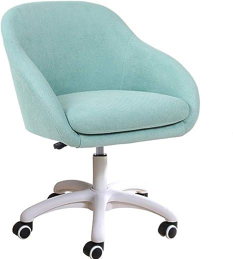 Swivel Velvet Office Chair Home Computer Desk Chair Ergonomic Adjustable Back