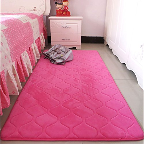 Amazon Com Hoomy Modern Solid Floor Runners For Bedroom