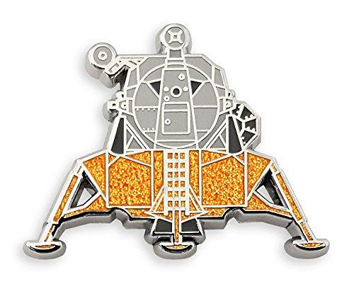 Armstrong Pin (Pinsanity Apollo Lunar Lander Enamel Lapel Pin)