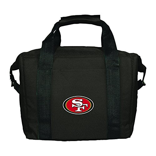 NFL San Francisco 49ers Soft Sided 12-Pack Cooler Bag