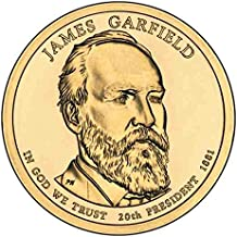 2011 P Garfield Presidential Dollar Choice Uncirculated