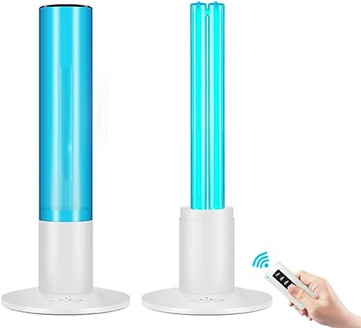 LYHD Lámpara de desinfección con ozono UV, 99% de esterilización ...