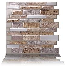 Tic Tac Tiles - Premium Anti-mold Peel and Stick Wall Tile in Polito Fresco (10)