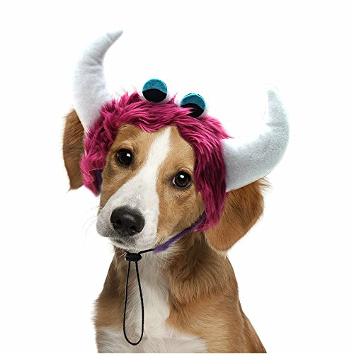 Mihachi Dog Headband Costumes - Holiday Party Birthday Wearable Monster Accessory,for Medium and Large Dogs ()