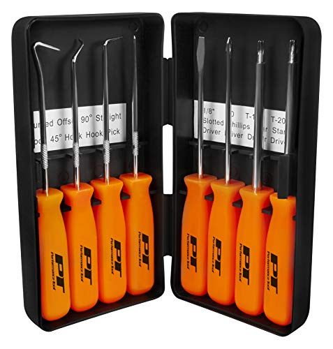 - Performance Tool  W941 8-Piece Specialty Pick/Driver Set