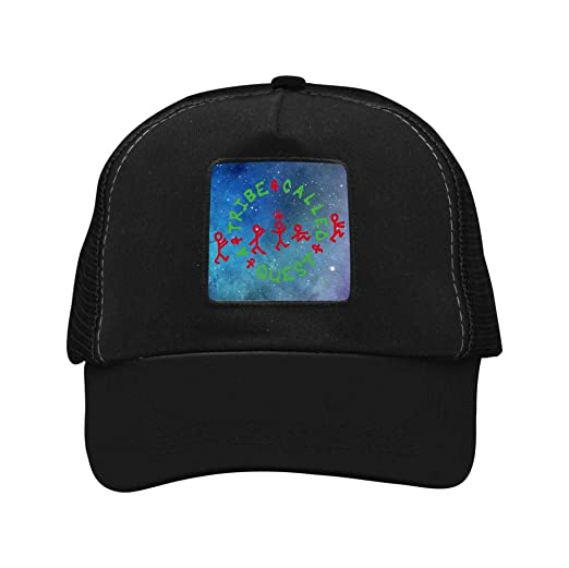 8359e3ea41eb0 A Tribe Called Quest Unisex Adult Adjustable Hats Mesh Cap Black at ...