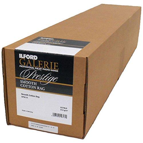 ILFORD 2004042 GALERIE Prestige Smooth Cotton Rag - 24 Inches x 49 Feet Roll by Ilford