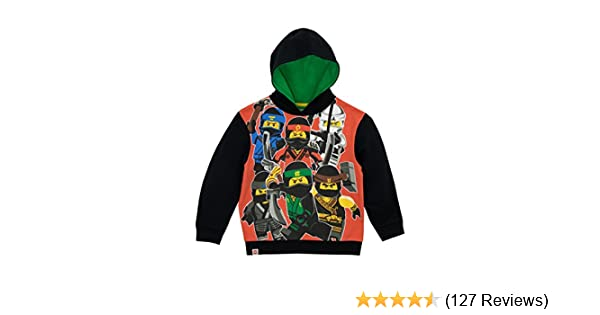 Ninjago Girls Boys Kids Hooded Tops Cartoon T-shirt Hoodie Jumper Age 2-10Years