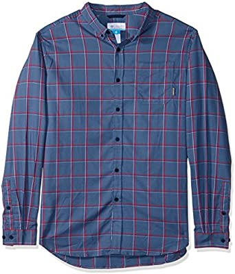 Columbia Mens Big and Tall Out and Back Ii Big /& Tall Long Sleeve Shirt