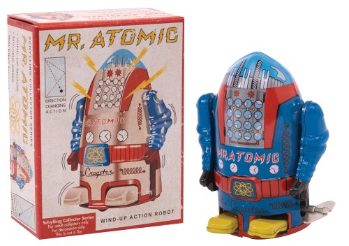 Schylling Mr. Atomic Wind-Up Robot